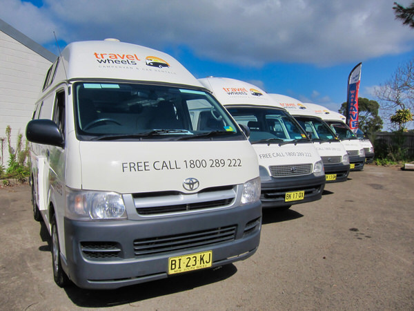 Toyota Hiace Campervans for sale at our sydney yard