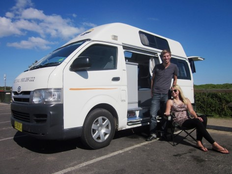 5 Person Automatic Campervan for Sale