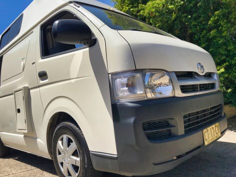 ex-hire used campervans for sale - Toyota Hiace Camper
