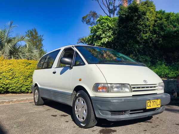Used Toyota Tarago Campervan for sale in Sydney - drivers side front view