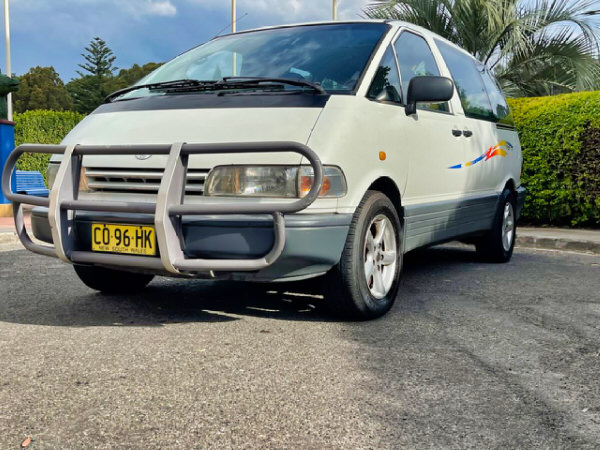 2 Person campervan for sale - front passenger side view